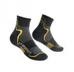 Mid Distance Sokcs Black Yellow La Sportiva