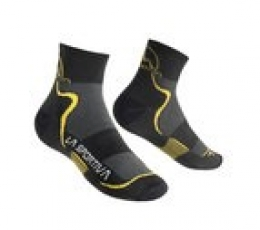 Mid Distance Sokcs Black Yellow La Sportiva