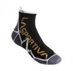 Long Distance Socks Grey Black La Sportiva