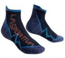 Long Distance Socks Blue Orange La Sportiva