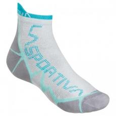 Long Distance Socks White Blue La Sportiva