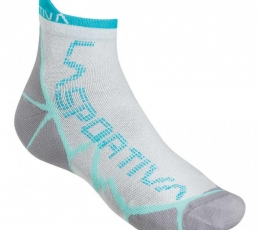 Long Distance Socks White Blue La Sportiva