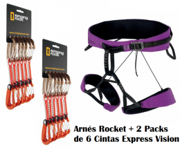 Arnés Rocket + 2 Packs Express VIsion