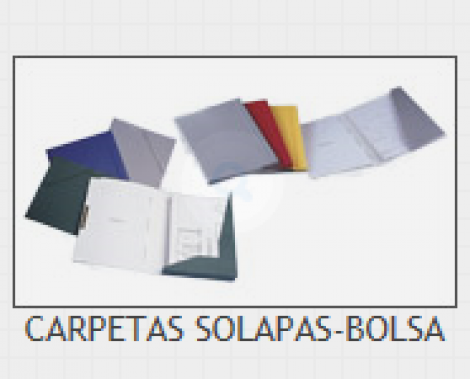 CARP. SOLAPAS/BOLSA FIJA FAST.G-6 TEJA