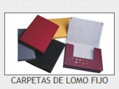 CARPETA LOMO FIJO 3 CM G-10 MARRON