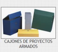 CAJON PROYECTOS ARMADO 25 CM GELTEX