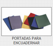 JUEGO DE 2 PORTADAS DIN A-4 (31x22) GELTEX