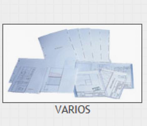 SEPARADORES DE PLANOS SIN IMPRIMIR (100)
