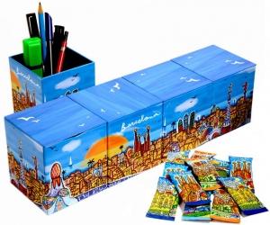 Skyline Cube Barcelone