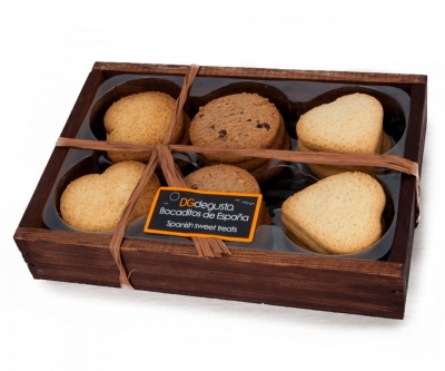 Assortiment de biscuits