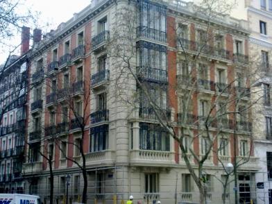 Fachada C/ General  Arrando- Madrid