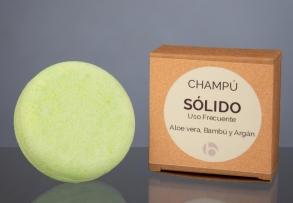 Champú Sólido Uso Frecuente Aloe Vera y Bambú