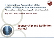II Simposio de la Sección Ibérica del Woerld Institute of Pain (WIP)