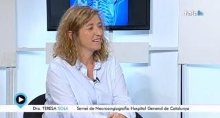 Entrevista realizada a la Dra. Dª Teresa Sola en el programa LA GRAN VIDA en TELEVISIÓ DE BADALONA.