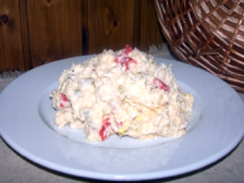 Homemade Russian Salad