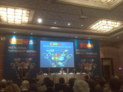 Partenariado Multilateral en Turquia 1 a 3 de Julio