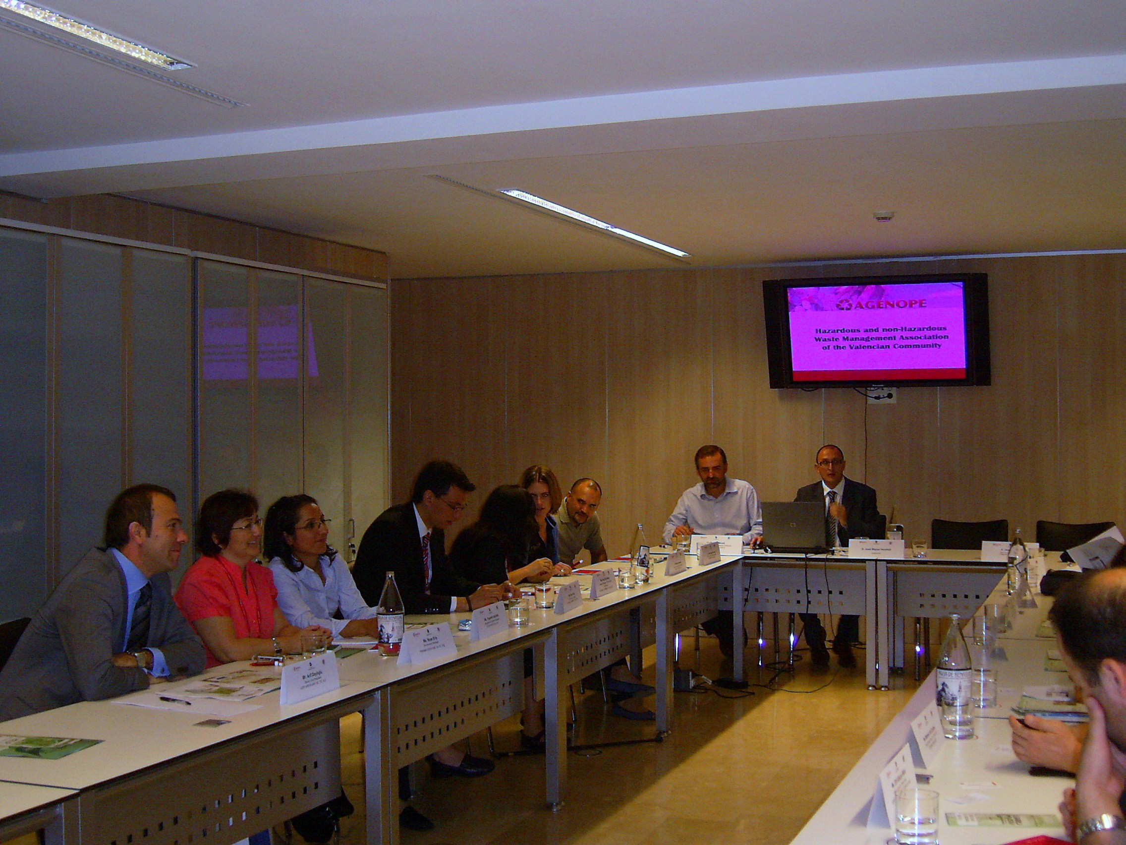 Turkish delegation:Valencia Chamber of Commerce