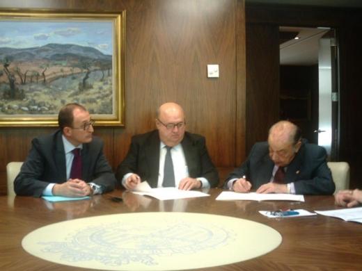 Firma de un Convenio de Colaboración junto con la Cámara de Valencia para la obtención del Certificado de Aptitud Profesional (CAP)