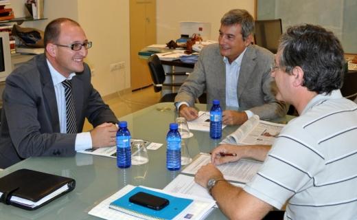 AGENOPE en la sede de la Fundación Comunidad Valenciana – Región Europea