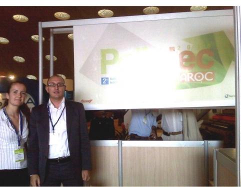AGENOPE en la Feria POLLUTEC Maroc 2010 - Casablanca, 6-9 de octubre de 2010