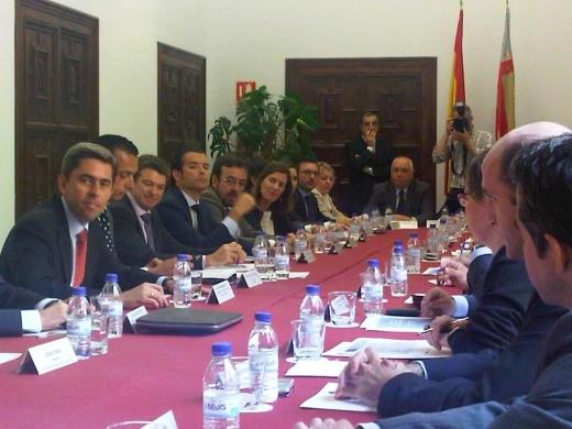 AGENOPE participa en el encuentro empresarial con D. Vicente Rambla