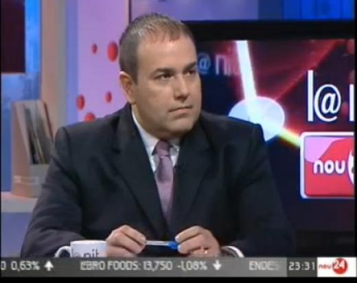 """Entrevista a Juan Carlos Garcia, de Sucesores Leonardo Garcia,SA, en el programa """"La Nit"""" de Canal924H"""