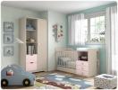 Mobiliario para bebe, cunas smile glicerio chaves