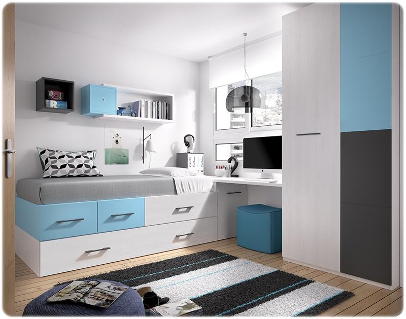 Dormitorio juvenil rimobel muebles de la muela for Muebles rimobel