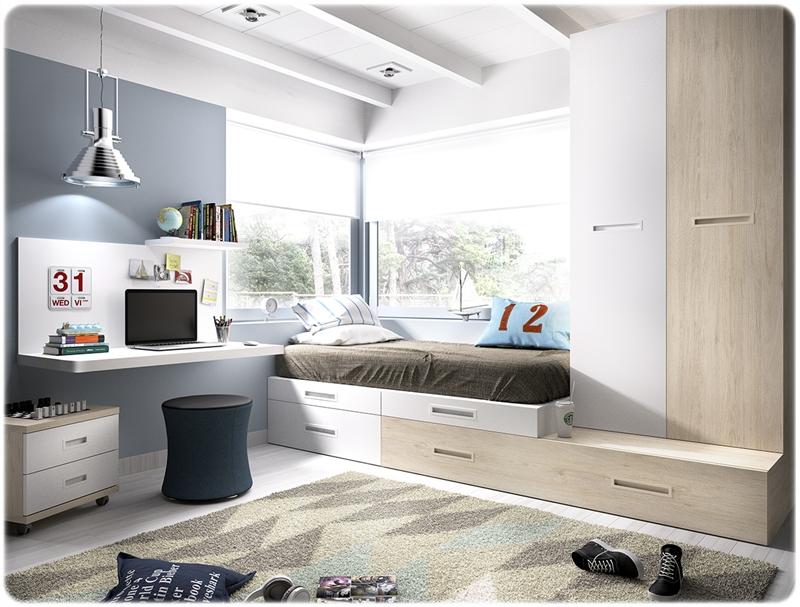 Dormitorio juvenil rimobel muebles de la muela - Merkamueble dormitorios juveniles ...