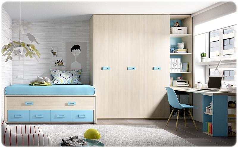 Dormitorio juvenil rimobel muebles de la muela - Dormitorio infantil original ...