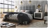 Dormitorio matrimonio moderno Azor Jordan,muebles de la muela