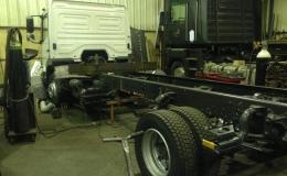 acortar camion