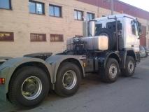 engache remolque camion