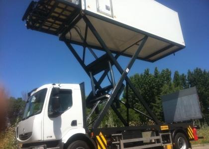 camion catering aeropuerto