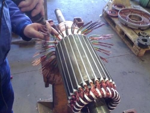 Bobinado de motores eléctricos