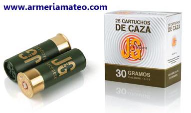 Cartuchos J&G Caza 30
