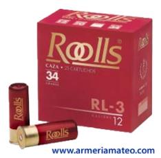 CARTUCHOS ROOLLS RL-3 34 GRS.