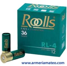 CARTUCHOS ROOLLS RL-4 36 GRS.
