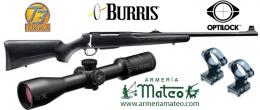 Rifle TIKKA T-3 LITE Visor Burris X Four 3-12x56