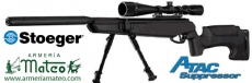 Air Rifle STOEGER ATAC SUPRESSOR COMBO