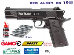 Pistola RED ALERT RD-1911 PACK