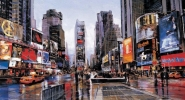 Evening in Time Square