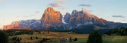 Seiser Alm and Dolomites