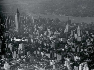 Aircraft over New York City, 1938