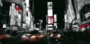 Nightlife in Times Square