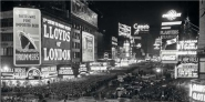 Crowds in Times Square on New Year's Eve, 1936