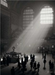 Sunbeams Streaming into Grand Central Station, NYC