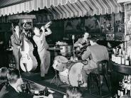 Swing Band Performing at Hickory house, NYC