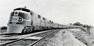 Santa Fe Super Chief Train, 1938