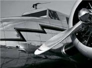 Vintage Aircraft Close-Up